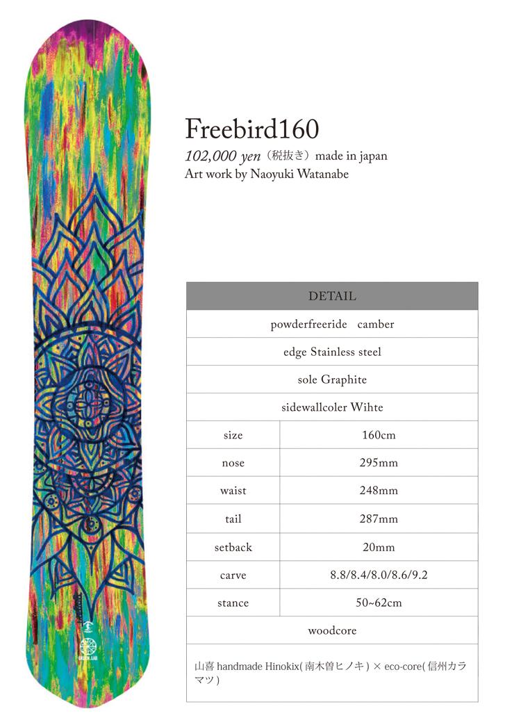 green.lab freebird 160
