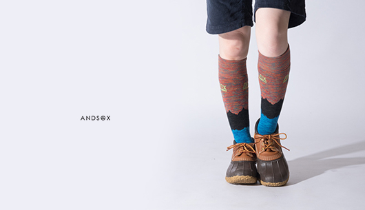 ANDSOX 日本製靴下 極上
