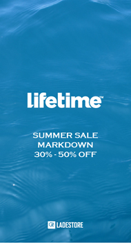 lifetime 50%OFF SUMMER SALE