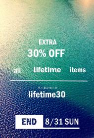 lifetime 30%OFF �����ݥ���