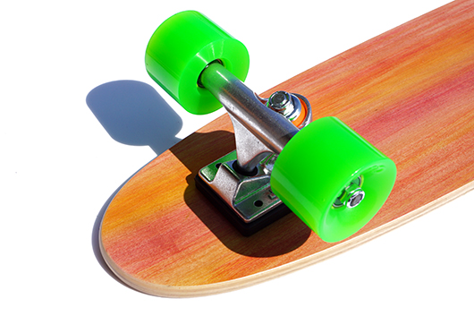 芽育スケートボード bakebon