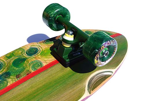 芽育スケートボード bakedhill