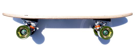 芽育クラシックスケートボード lovelycruise
