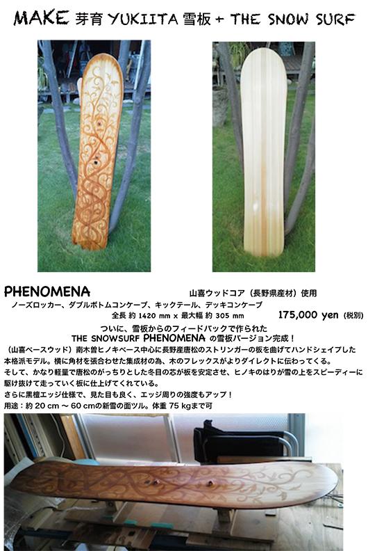 MAKE雪板 phenomena