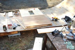 DIY ドア作り 2