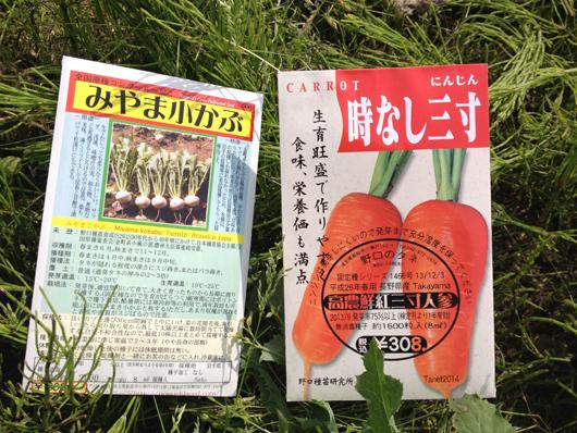 無農薬 無肥料 畑