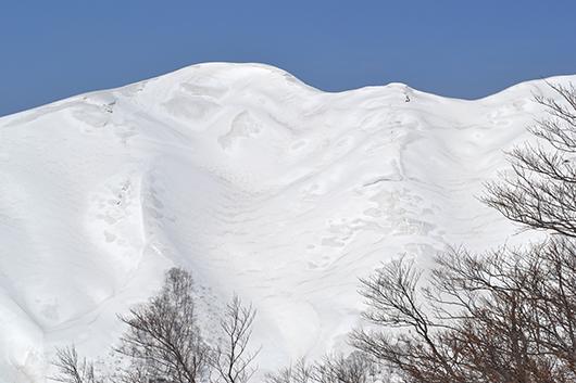 月山 バックカントリー スノーボード
